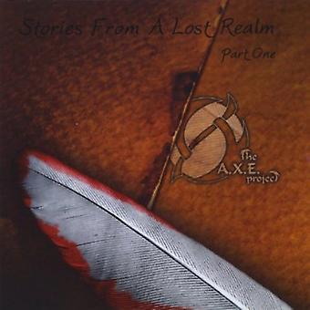 A.X.E. Project - tarinoita kadonnut valtakunta osa yksi [CD] USA tuonti