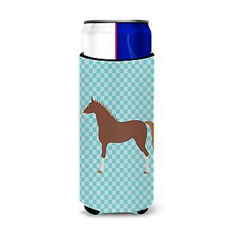 """هانوفيريان """"الحصان الأزرق التحقق من Michelob الترا نعالها"""" للعلب ضئيلة"""