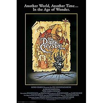 Dunkle Kristall - Film Score Plakat Poster drucken