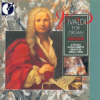 Jean Guillou - Vivaldi for Organ [CD] USA import