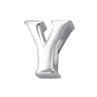 """y"" - 925 Sterling Silver Plain Beads - W35631x"