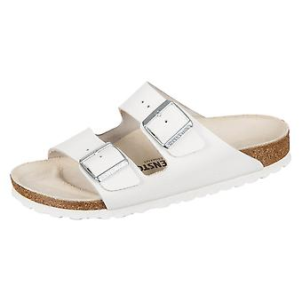 Birkenstock Arizona Wei Naturleder 051133 universal summer women shoes