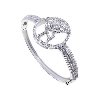 Silber Zirkonia Schmetterling Armband