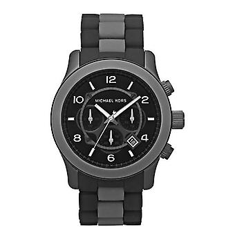 Michael Kors Mens Watch fekete Chronograph MK8201