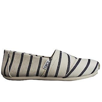 Toms Ladies calçados Veneza coletar herança Stripe