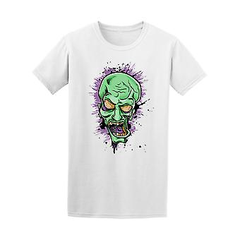 Screaming Zombie Face Graphic Tee - Image by Shutterstock