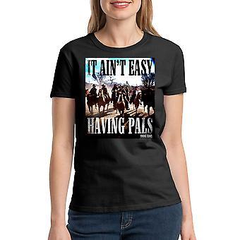 Young Guns Ain't Easy Women's Black T-shirt