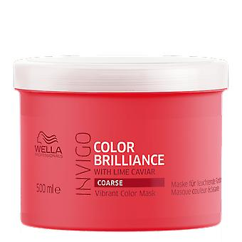Parfums de Wella couleur éclat grossier de couleur vibrante masque 500ml