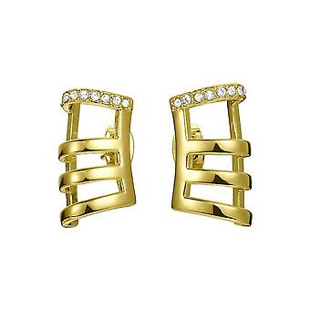 Joop women's earrings stainless steel Silver stripes JPER00001B000