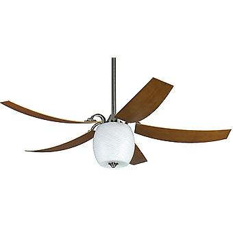 """Ceiling fan MARIANO 132cm / 52"""" with light and remote"""