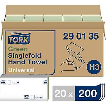 Papieren handdoekjes 1 - laags 20 pak TORK Zickzack universele 290135 geschikt voor: Tork H3