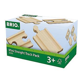 BRIO wereld spoor - Mini rechte Pack