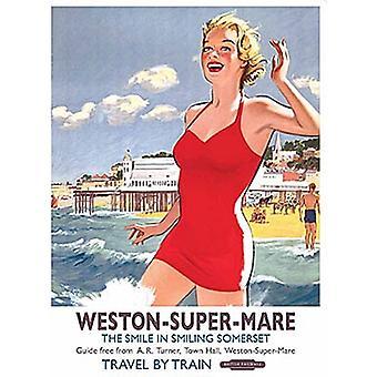Weston супер Маре (старый железнодорожный Н.э.) Холодильник магнит