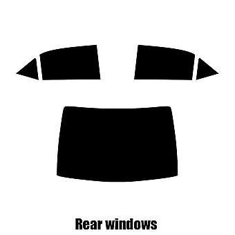 Pre cut window tint - Toyota Corolla 4-door Saloon - 2014 and newer - Rear windows