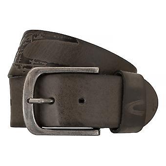 Ceintures pour hommes camel active ceintures cuir jeans ceinture gris 7639