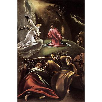 Agony i haven, El Greco, 60x40cm