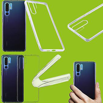For Huawei P30 Pro TPU silicone case transparent ultra thin case bag cover
