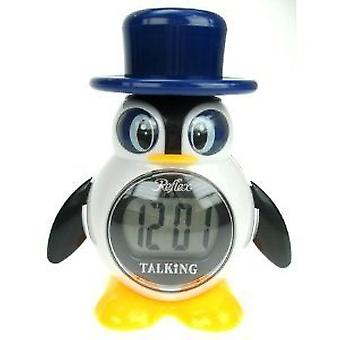 Reflex Penguin Digital Talking Alarm Clock 908-3102
