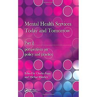 Servicios de salud mental hoy y mañana: perspectivas sobre la política y práctica PT. 2
