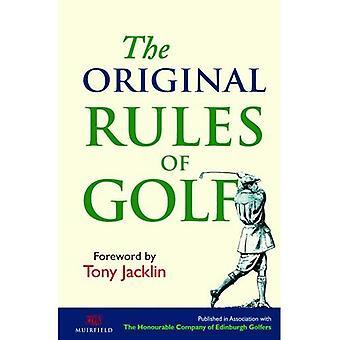 De ursprungliga reglerna för Golf