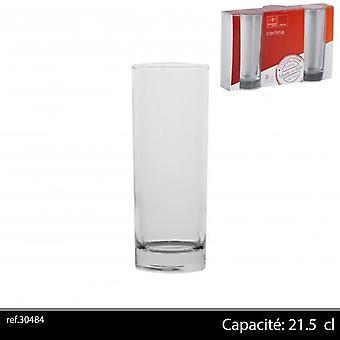 Bormioli 3Pk Cortina szemüveg 25Cl