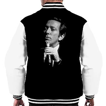 TV volte cantante Andy Williams 1971 Varsity giacca uomo