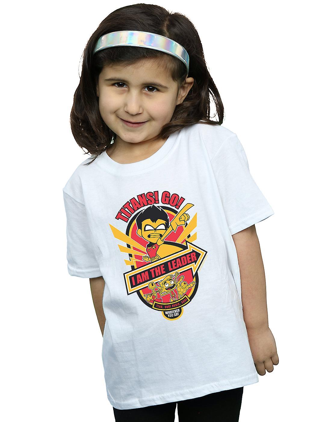 DC Comics Girls Teen Titans Go I Am The Leader T-Shirt