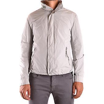 Aspesi Ezbc067065 Men's Grey Polyester Outerwear Jacket