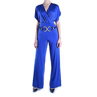 Balizza Ezbc206009 Damen's Blau Polyester Jumpsuit