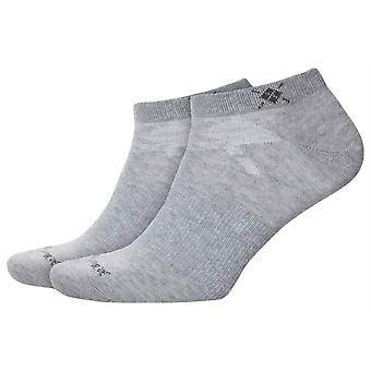 Chaussettes de 2 baskets Burlington everyday-gris clair