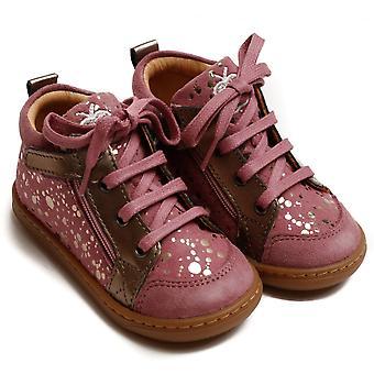 Shoo Pom od Pom D'Api Bouba Bi Zip Ankle Boot, Rosewood