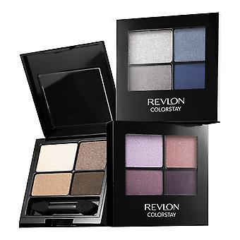 Revlon żelu z pędzelkiem Colour 16 godzin oczu cień Quad