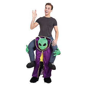 Bristol Novelty Unisex Alien Piggy Back Costume