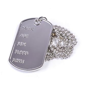 Bristol Novelty Dog Tag Necklace