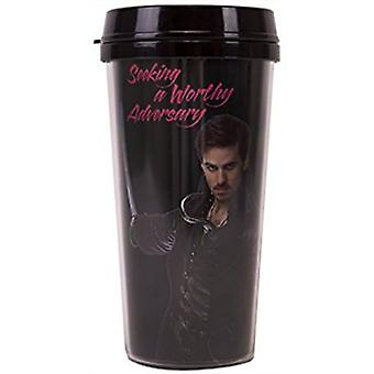 Travel Mug - Once Upon A Time - Hook New ptmg-out-hadv