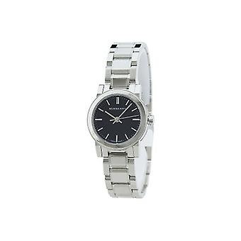 Burberry Bu9201 Ladies Black Face Stainless Steel Watch