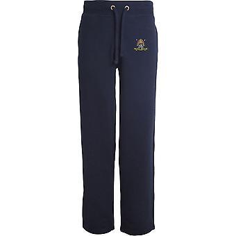 16th 5th Queens Royal Lancers farve-licenseret British Army broderet åbne hem sweatpants/jogging bunde