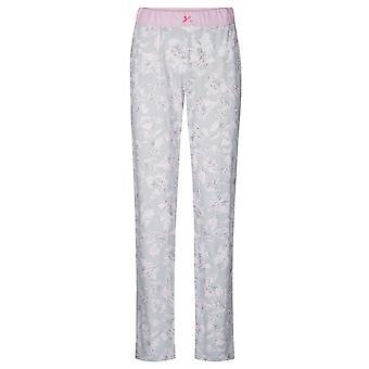 Rösch 1884151-11913 Women's Smart Casual Everyday Grey Floral Cotton Pyjama Pant