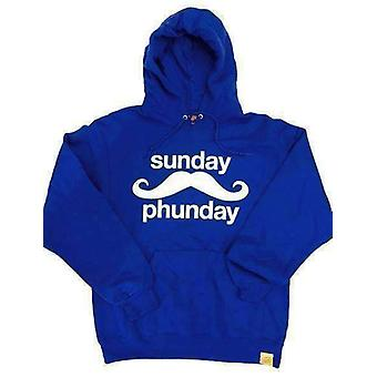 Team phun sunday phunday hooded sweat blue