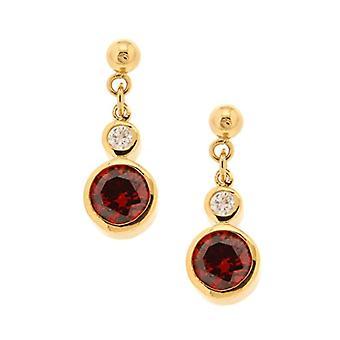Bijoux pour tous Woman brass Ronde zirconium oxide