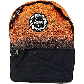 Hype Speckle Fade - Zaino Unisex-Adulto - Multicolore (Orange/Black) - 30x41x15 cm (W x H x L)