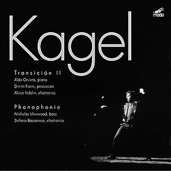 M. Kagel - Kagel: Transici N II; Phonophonie [CD] USA import