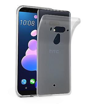 Cadorabo Case for HTC U12+ (Plus Version) Case Cover - Mobile Phone Case made of flexible TPU silicone - Silicone Case Protective Case Ultra Slim Soft Back Cover Case Bumper