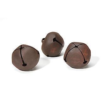 3 Rusty 40mm Jingle Bells for Crafts | Craft Bells | Arts & Crafts