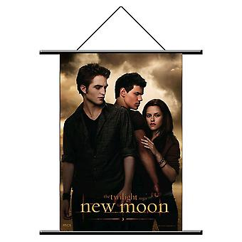 The Twilight Saga New Moon Wall Scroll Love Triangle