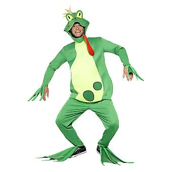 Mens Frog Prince Fancy Dress Costume