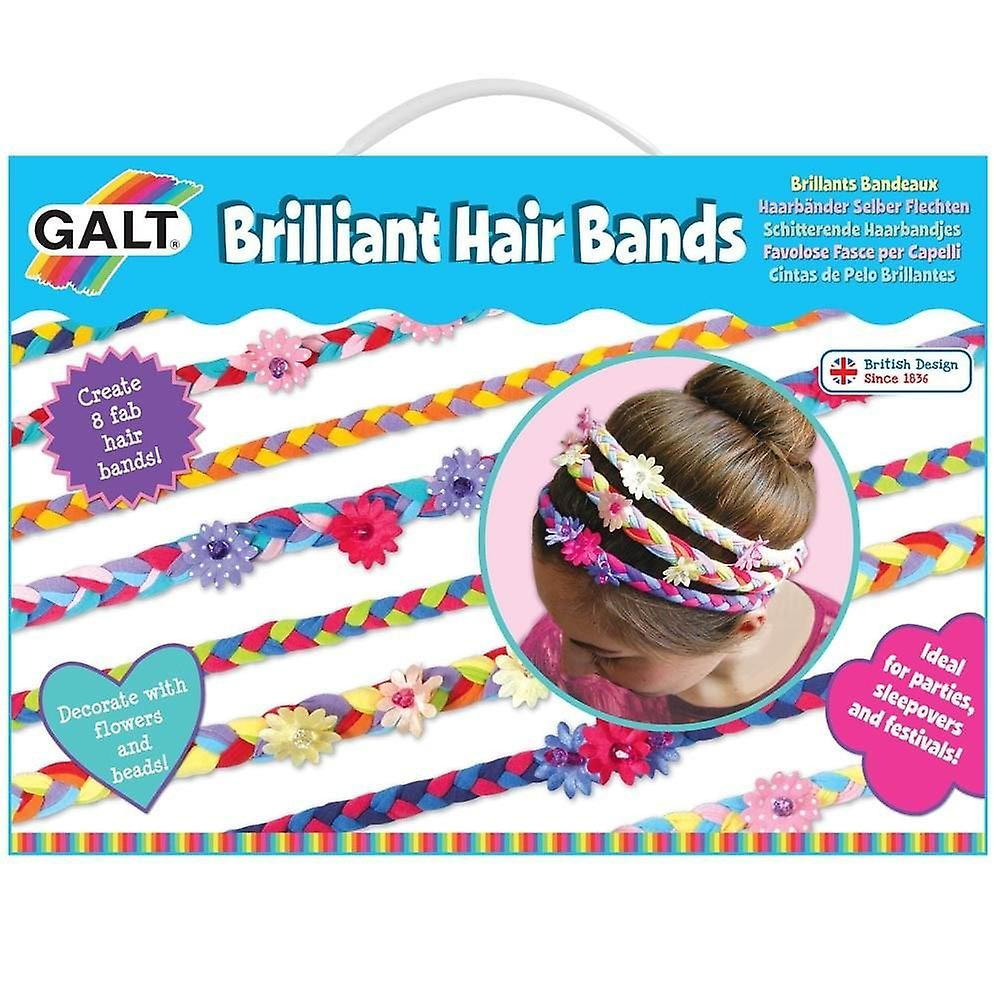Galt Brilliant Hair Bands - Craft Kit