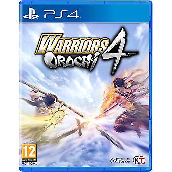 戦士オロチ4 PS4ゲーム