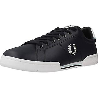 Fred Perry Sport / Chaussures B6202 Couleur 248navywhi