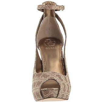 Guess Womens Holie2 Peep Toe Special Occasion Ankle Strap Sandals